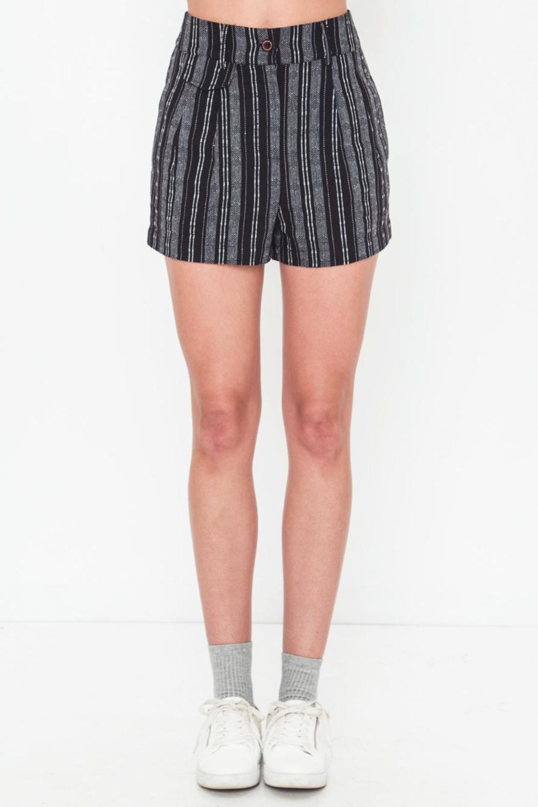 Movint Black High-Waist Short - Main Image