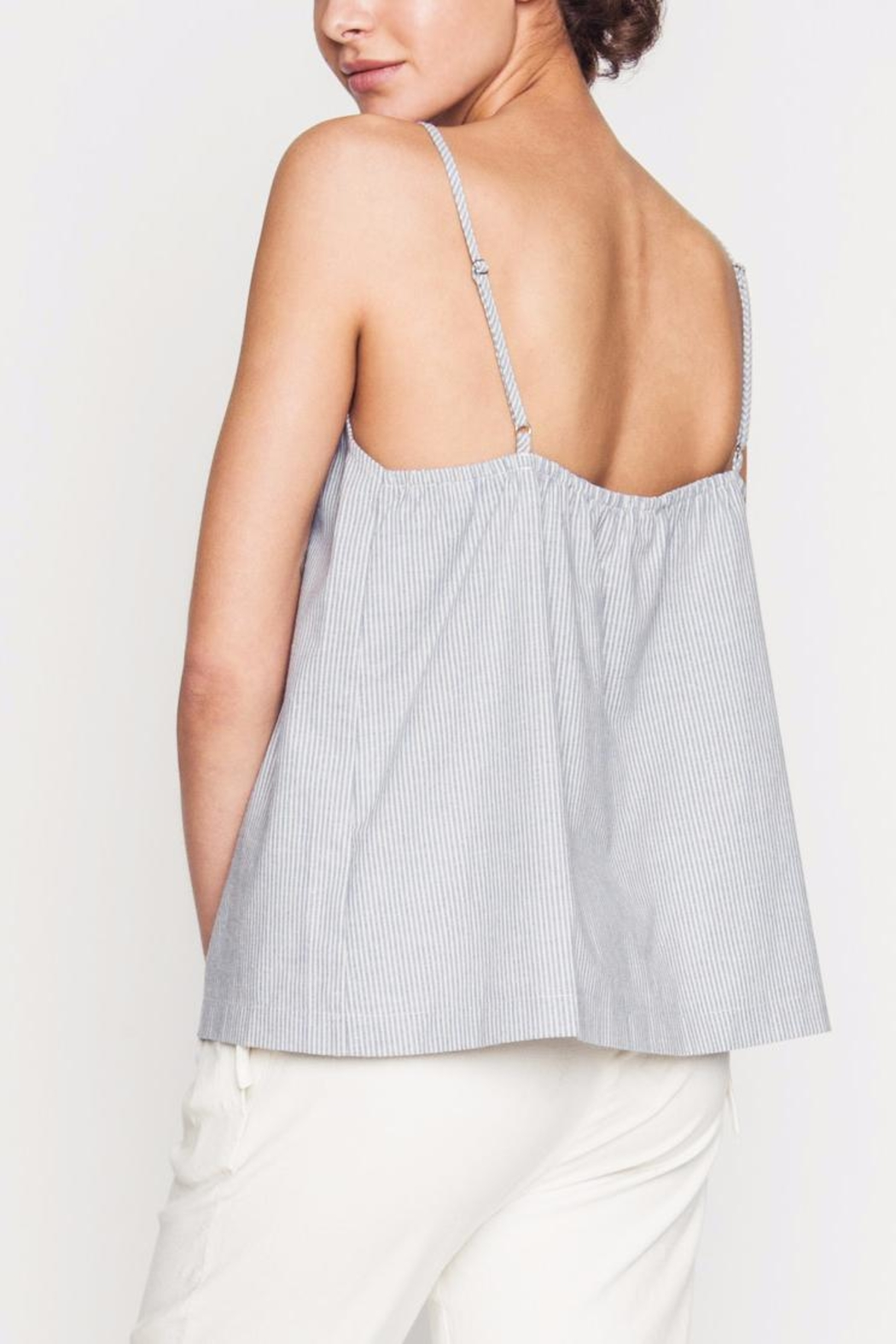 Movint Front Ruching Detailed Cami - Side Cropped Image
