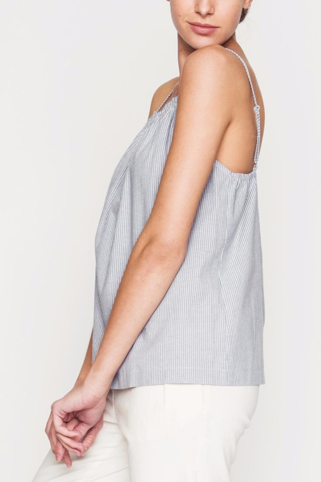 Movint Front Ruching Detailed Cami - Front Full Image