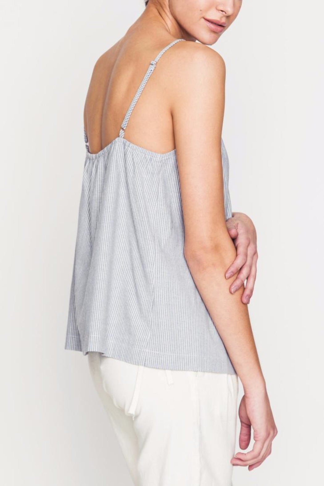 Movint Front Ruching Detailed Cami - Back Cropped Image