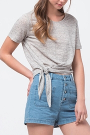 Movint Front Tie Shirt - Front full body