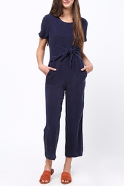 Movint Front Tie Detailed Jumpsuit - Front cropped