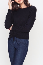 Movint Front Tie Sweater - Front cropped