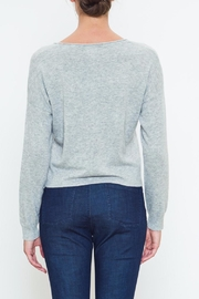Movint Front Tie Sweater - Side cropped