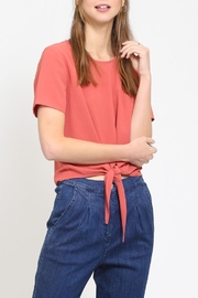 Movint Front Tie Top - Front cropped