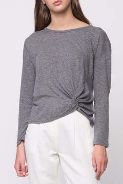 Shoptiques Product: Front Twist Detail Sweatshirt