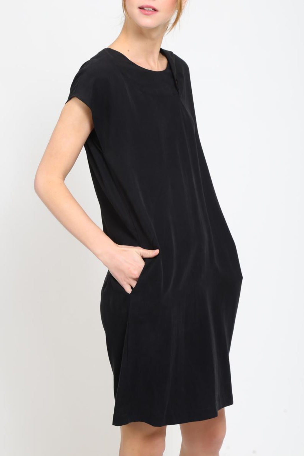 Movint Front Twist Dress - Front Full Image