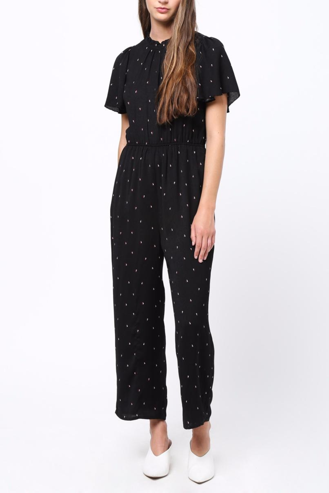 Movint Fuffled Sleeve Jumpsuit - Main Image