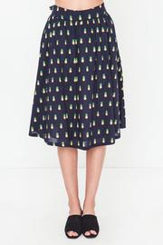 Movint Gathered Skirt With Waist Tie - Product Mini Image