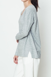 Movint Heather Knit Top - Front full body