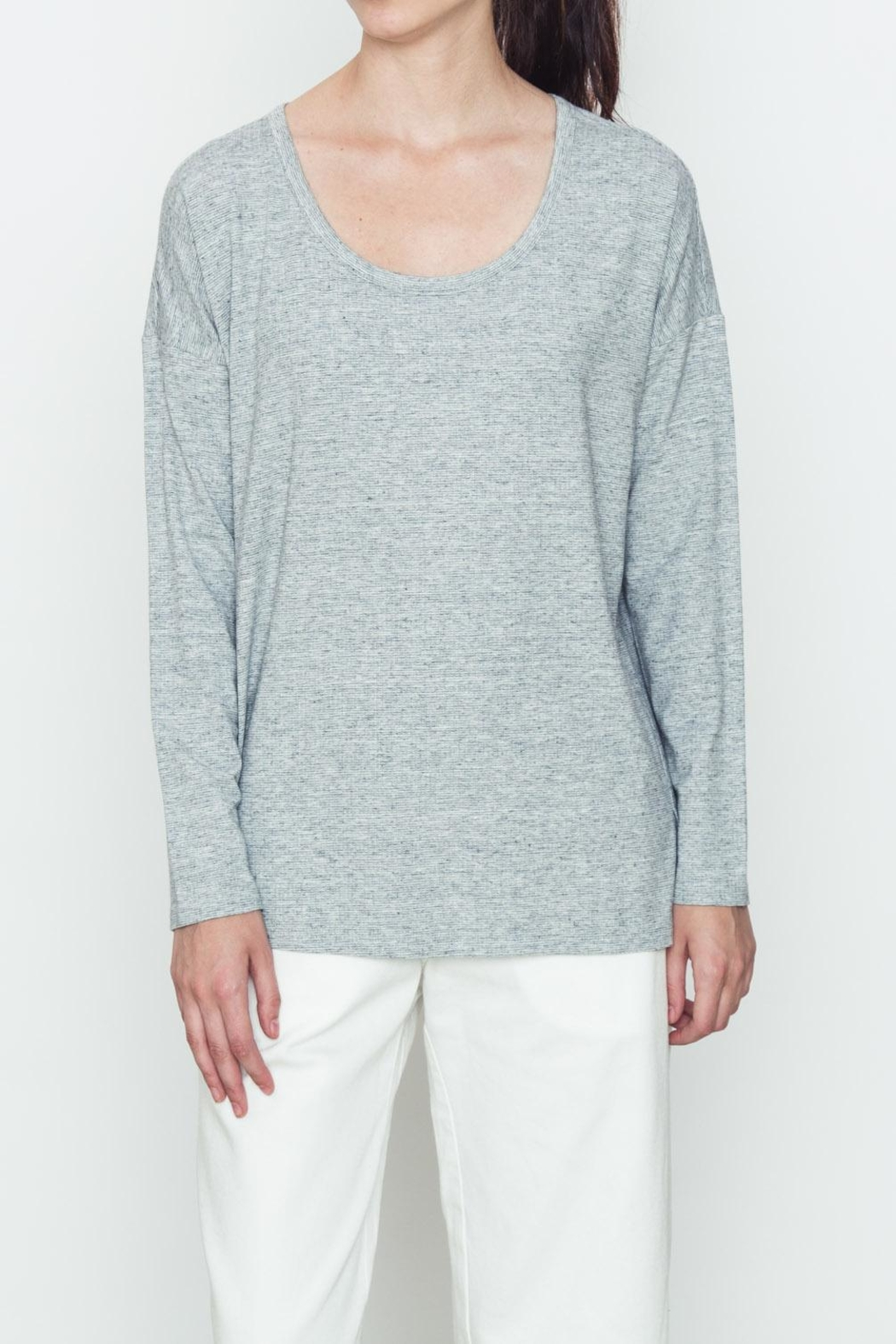 Movint Heather Knit Top - Main Image