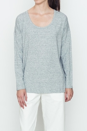 Movint Heather Knit Top - Front cropped