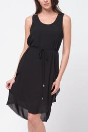 Movint High-Low-Dress With Waist-Tie - Product Mini Image