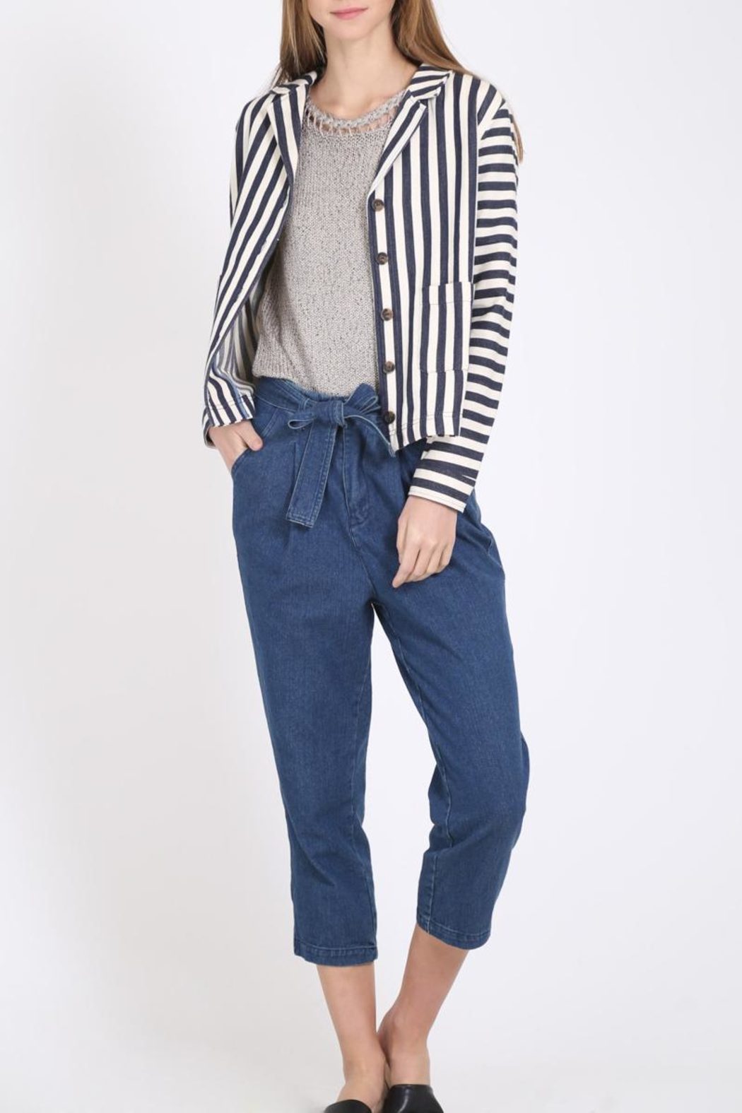 Movint High Rise Pants - Front Full Image