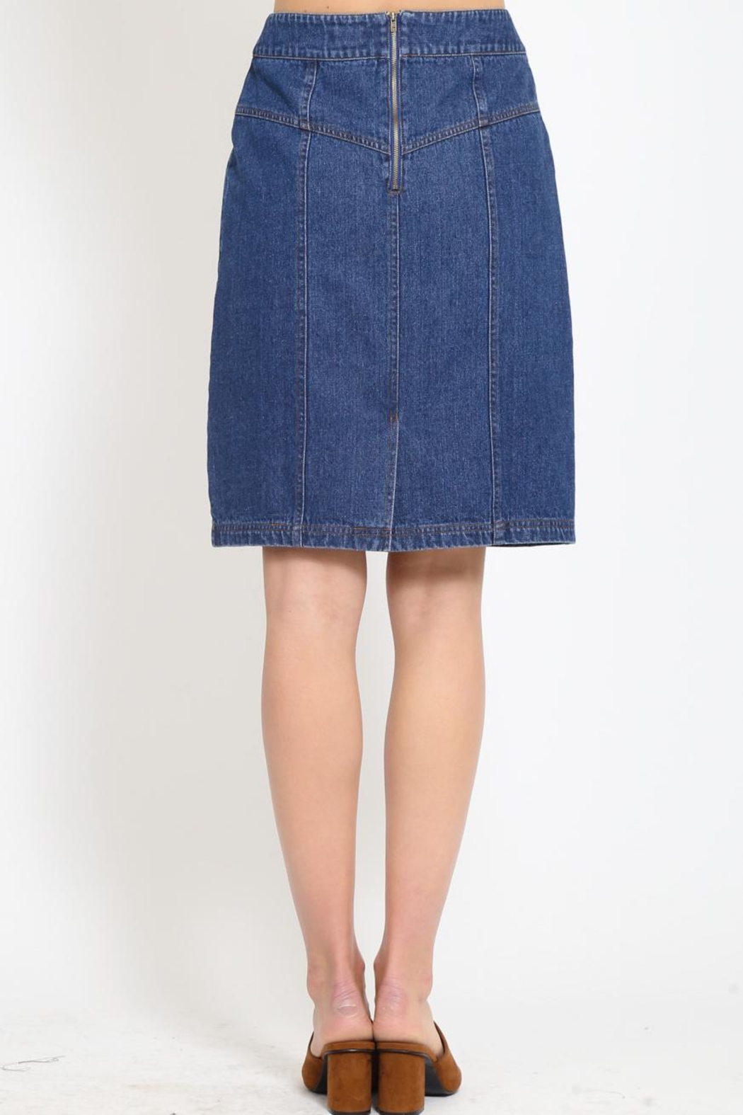 Movint High Waisted Skirt - Side Cropped Image