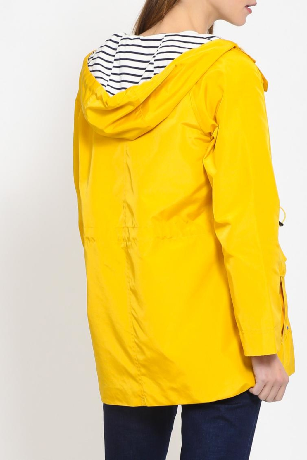 Movint Hoodied Rain Jacket - Front Full Image