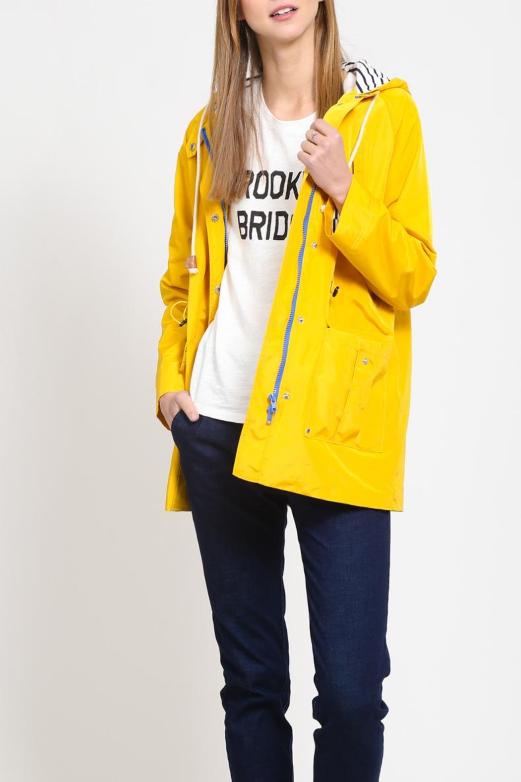 Movint Hoodied Rain Jacket - Main Image