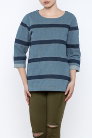Movint Jean Striped Top - Product Mini Image