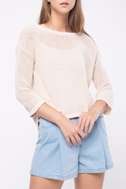 Movint Kimono Sleeve Sweater - Front cropped