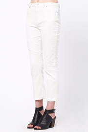 Movint Knee Frayed Hem Pants - Side cropped