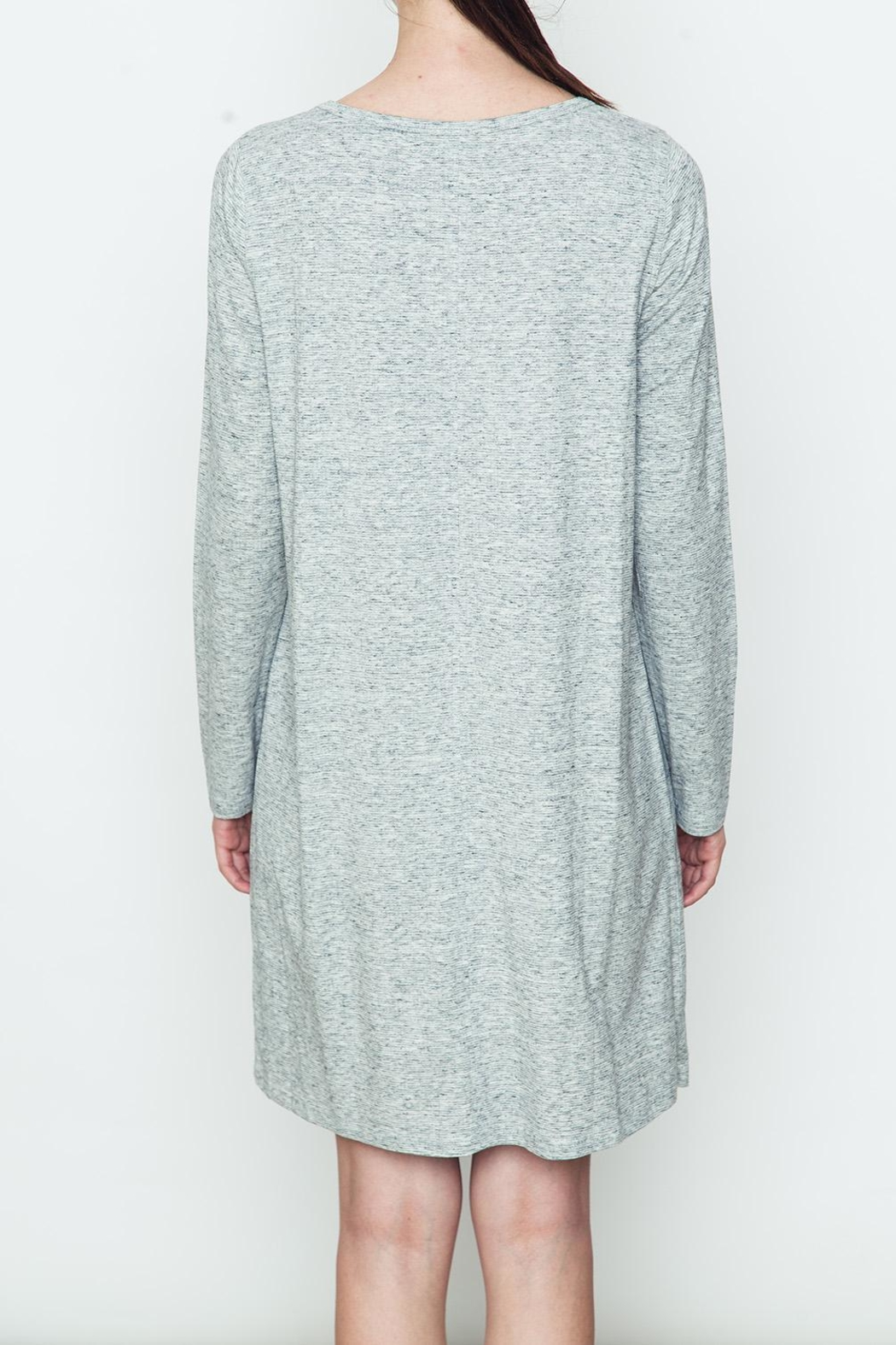Movint Knit Dress - Side Cropped Image