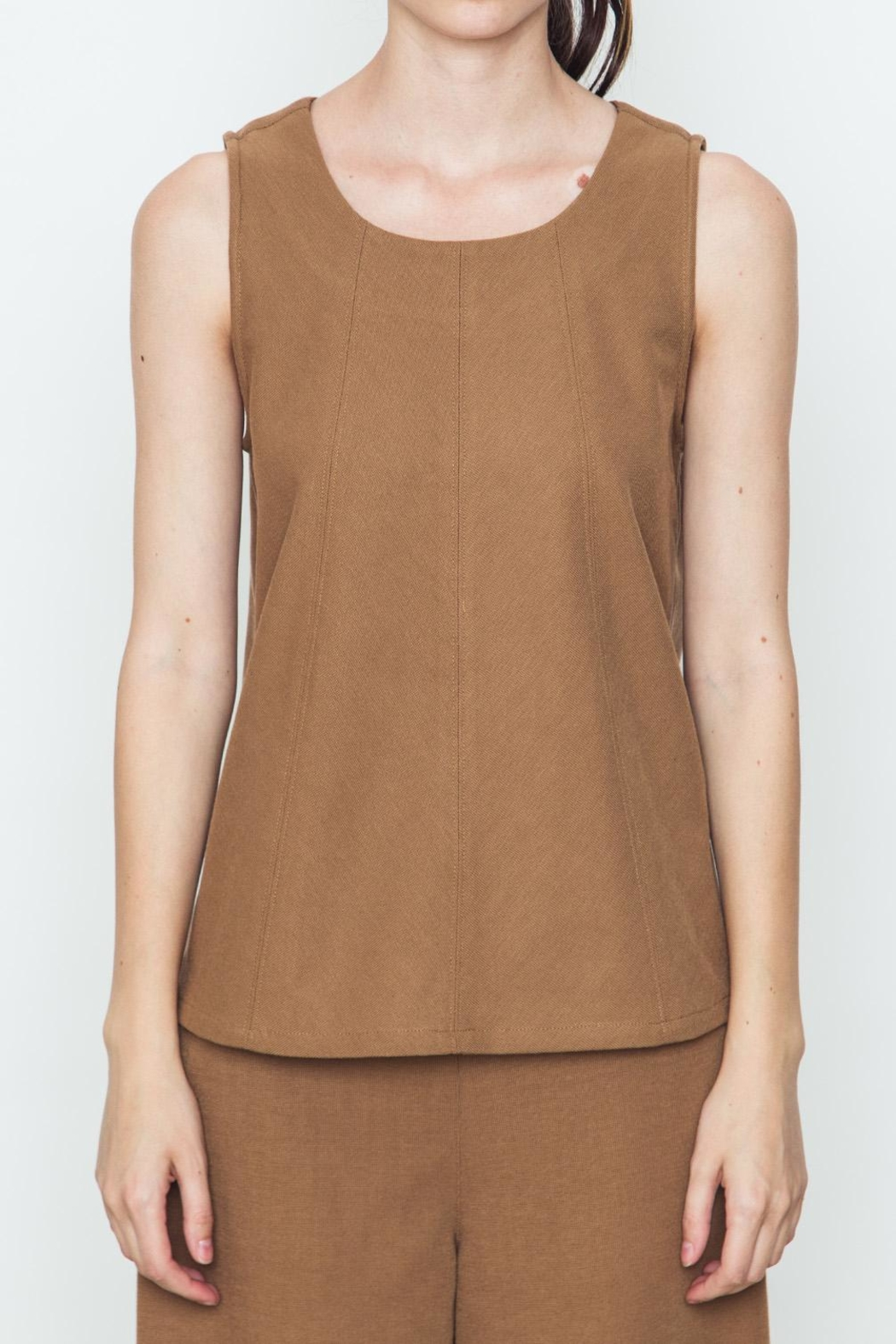 Movint Knit Tank Top - Front Cropped Image