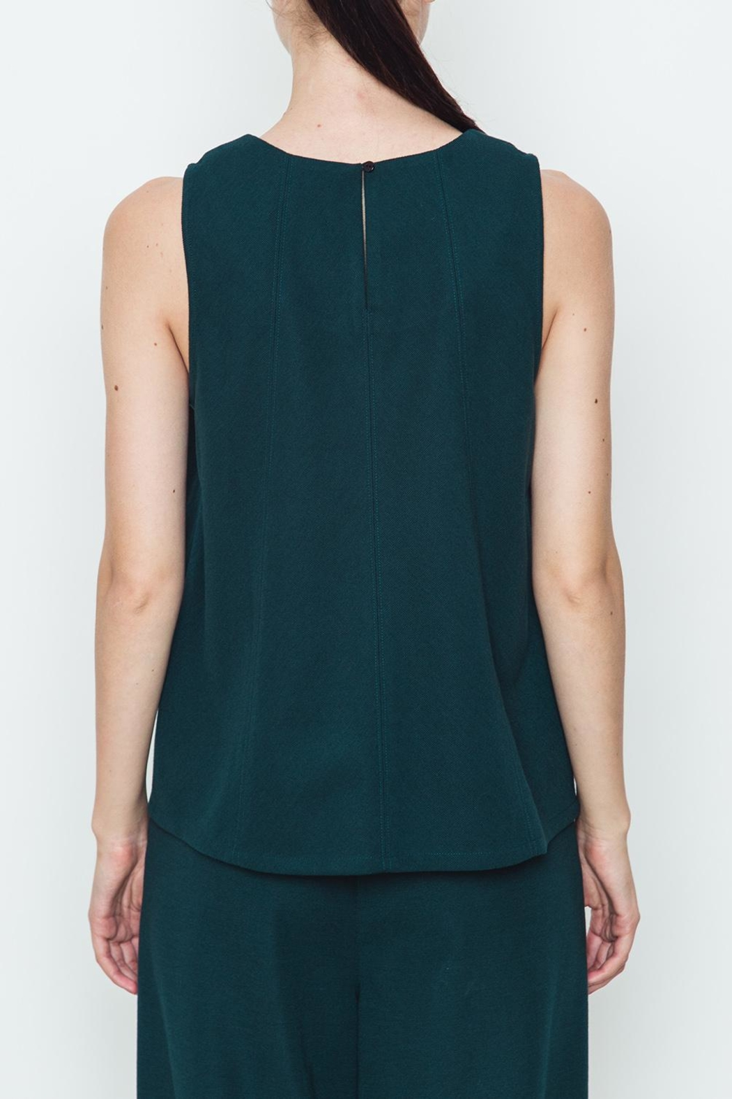 Movint Knit Tank Top - Side Cropped Image