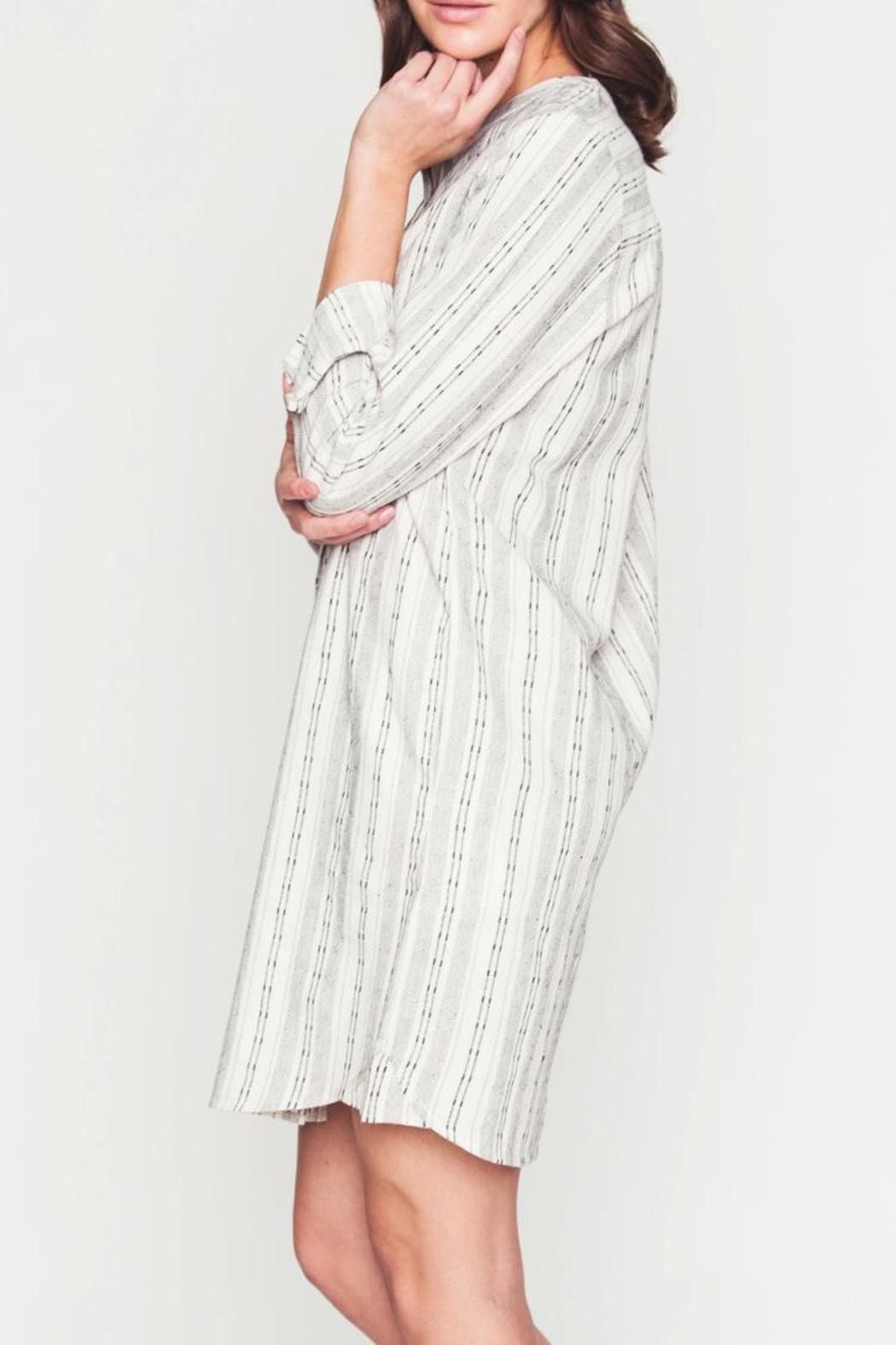 Movint Button-Down Dress - Front Full Image