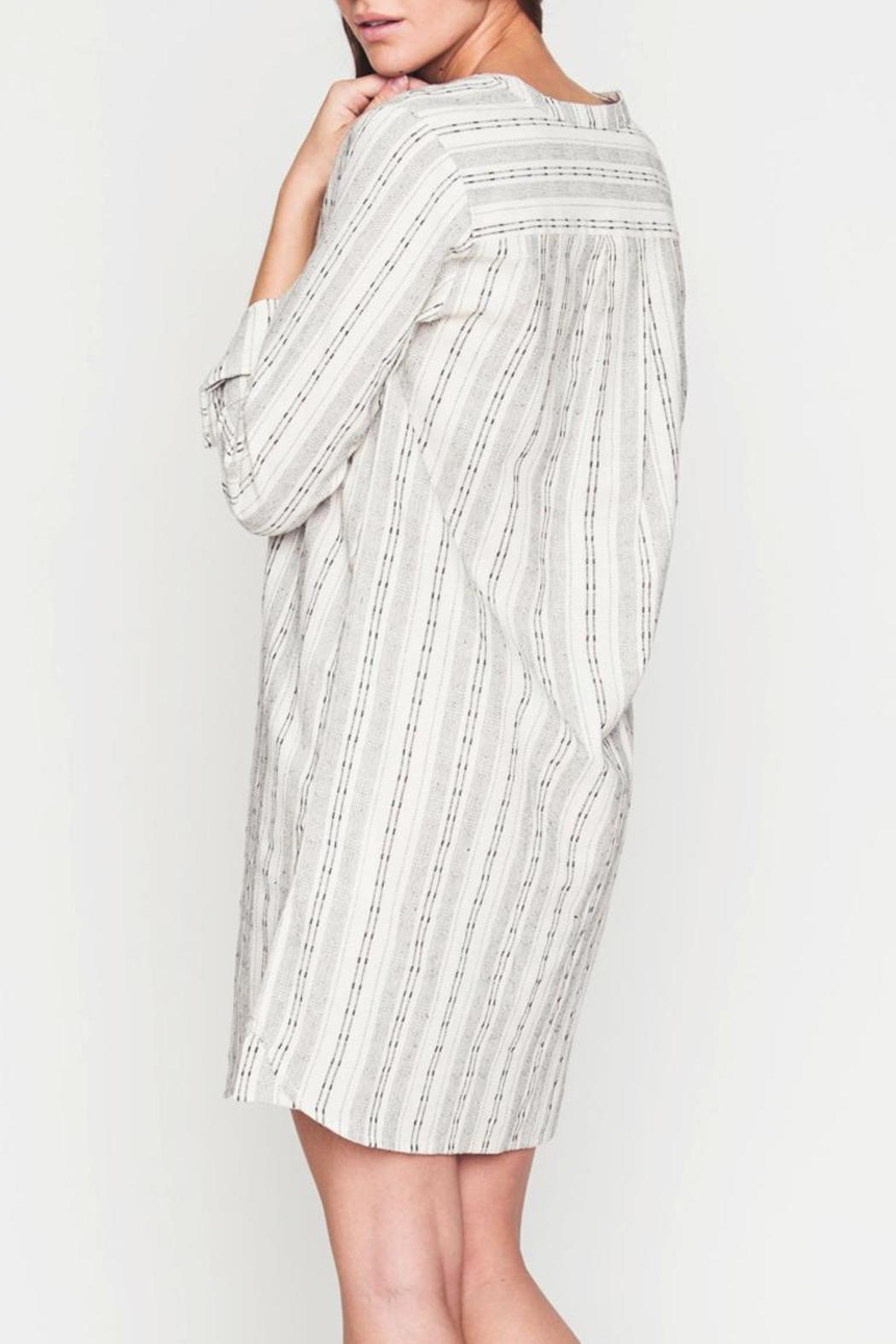 Movint Button-Down Dress - Side Cropped Image