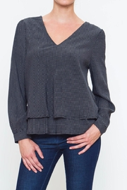 Movint Layered V Neck Blouse - Front cropped