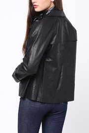 Movint Leather Jacket - Front full body