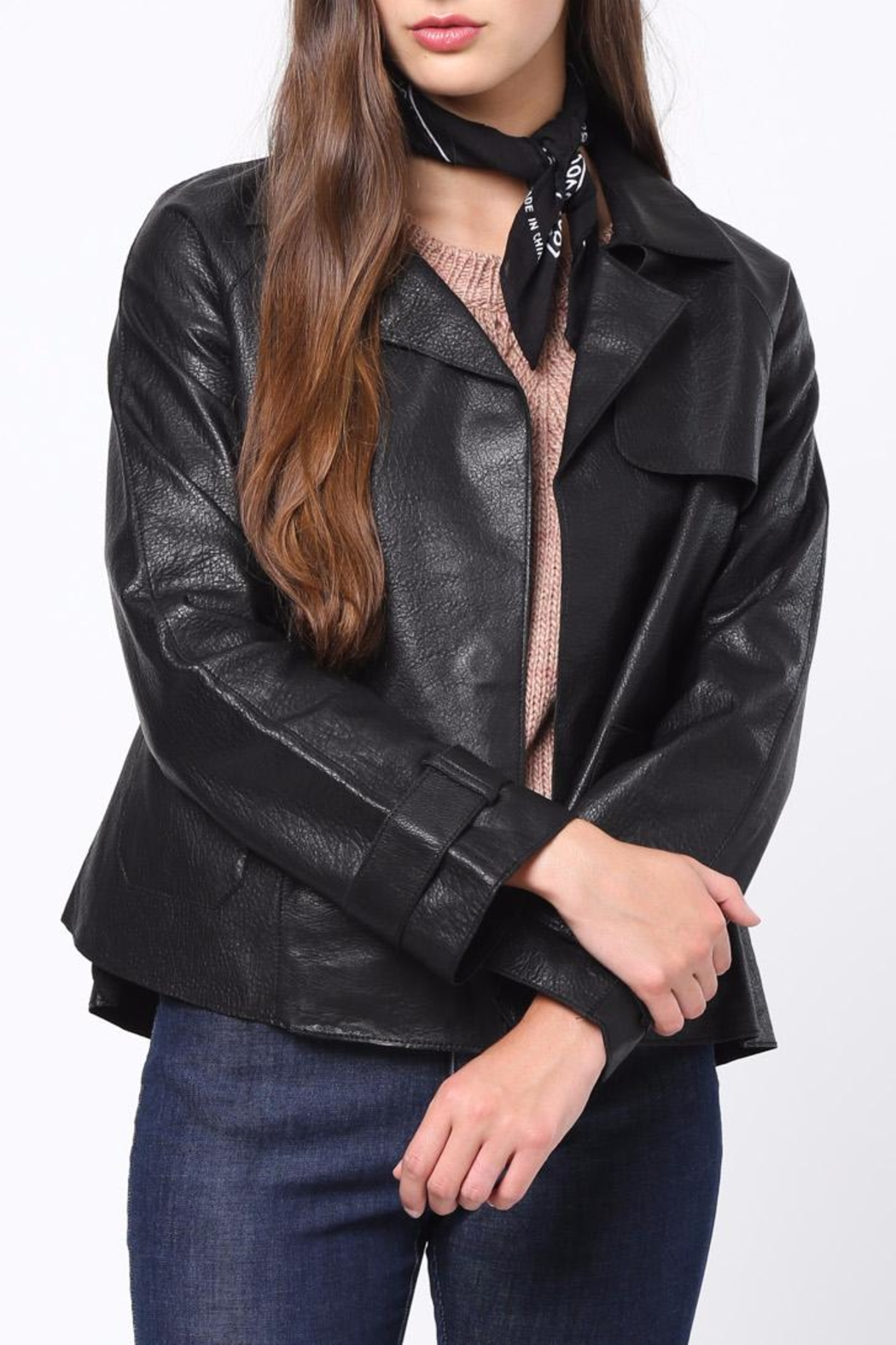 Movint Leather Jacket - Main Image