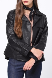 Movint Leather Jacket - Front cropped
