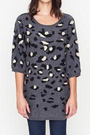 Movint Leopard Sweater - Back cropped