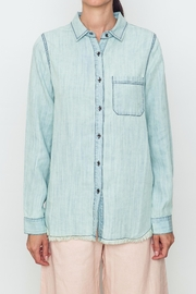 Movint Light Denim Shirt - Front cropped