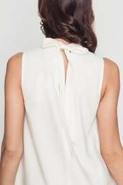Movint Avril White Dress - Back cropped