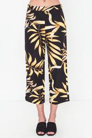 Movint Linen Printed Cropped Pants - Side cropped
