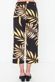 Movint Linen Printed Cropped Pants - Other