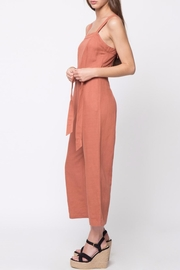 Movint Linen Sleeveless Jumpsuit - Side cropped