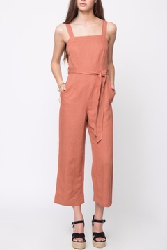 Movint Linen Sleeveless Jumpsuit - Product List Image
