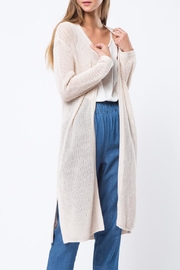 Movint Long Knited Cardigan - Front cropped