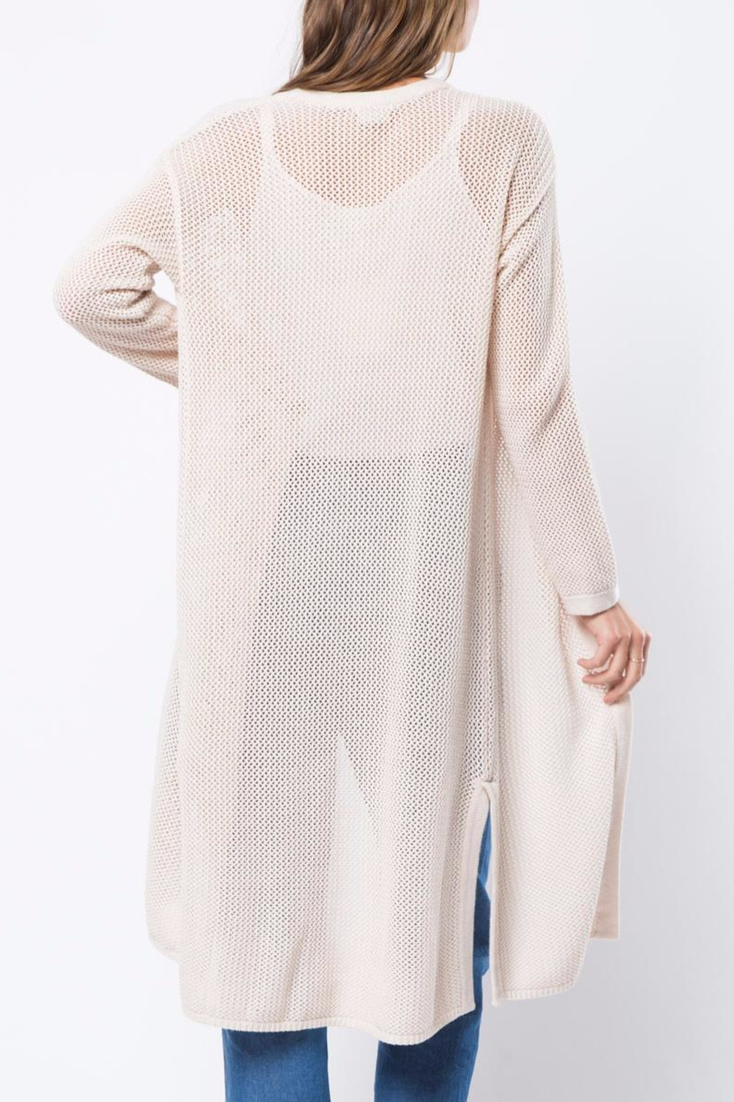 Movint Long Knited Cardigan - Front Full Image