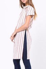 Movint Long Striped Shirt - Side cropped