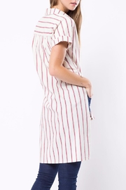 Movint Long Striped Shirt - Front full body