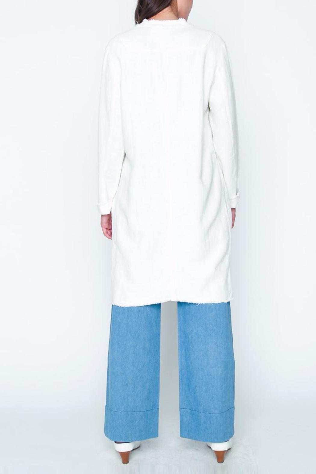 Movint Longline Jacket - Side Cropped Image