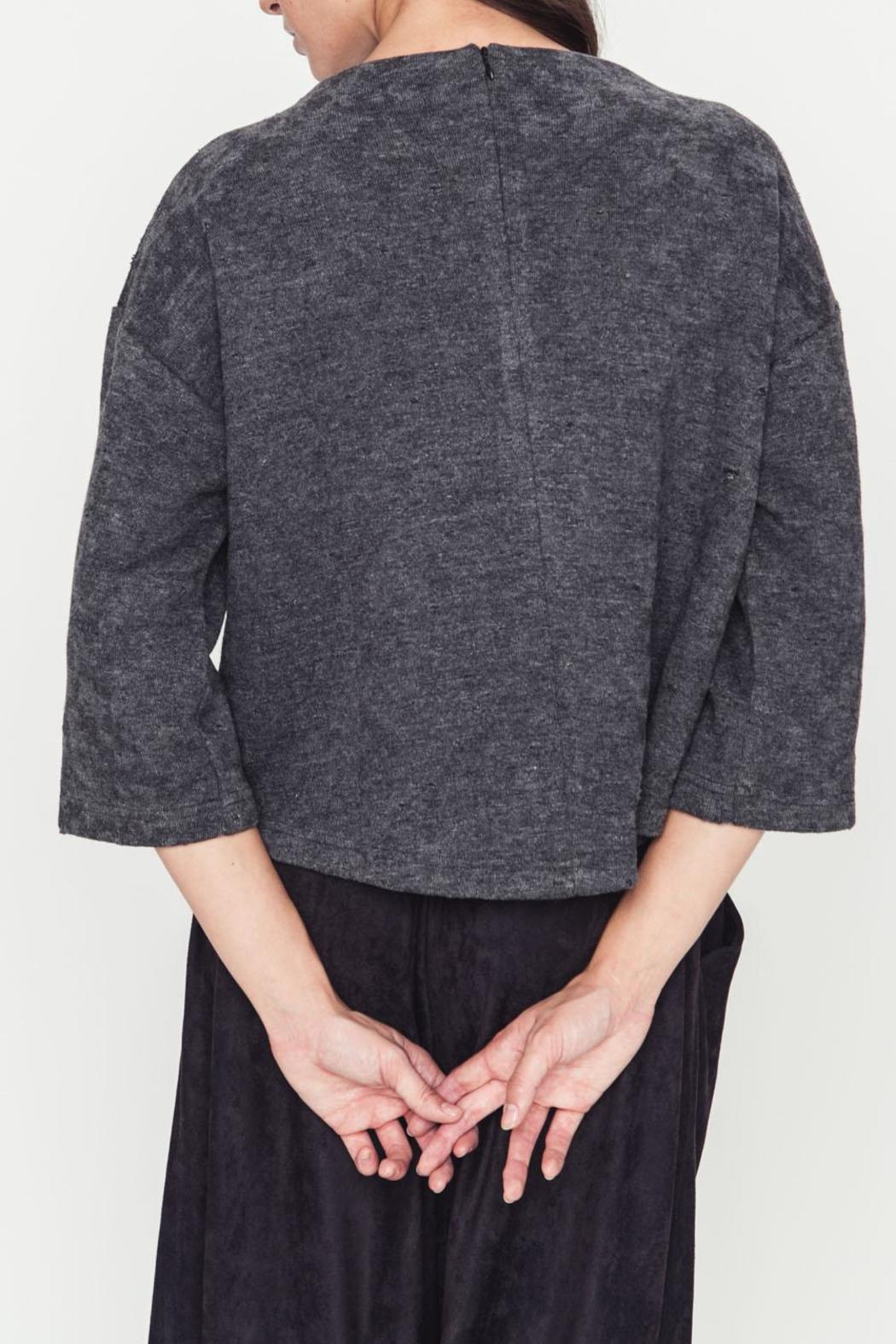 Movint Lucienna Boat Neck Top - Side Cropped Image