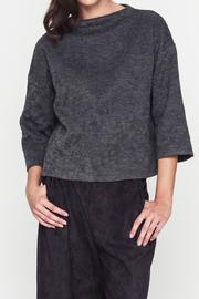 Movint Lucienna Boat Neck Top - Front cropped