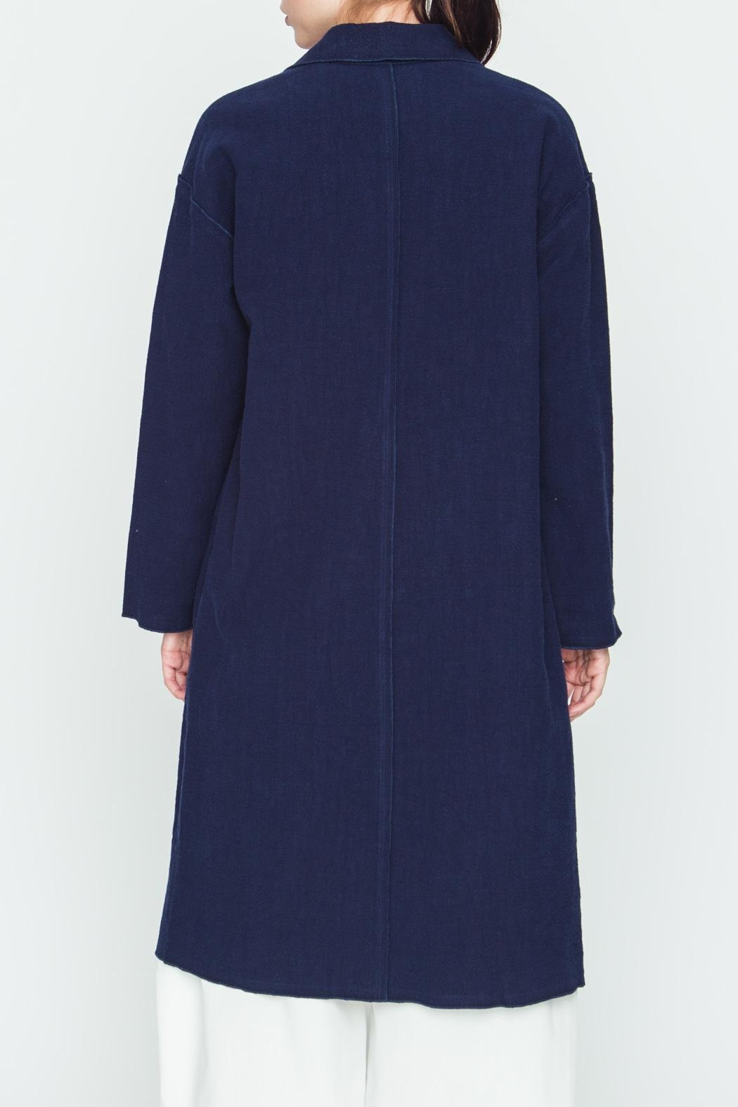 Movint Milano Open-Front Coat - Side Cropped Image