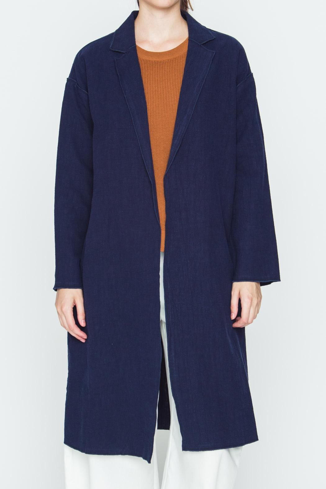 Movint Milano Open-Front Coat - Front Cropped Image