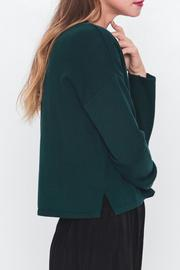 Movint Mock Neck Cropped Sweater - Side cropped